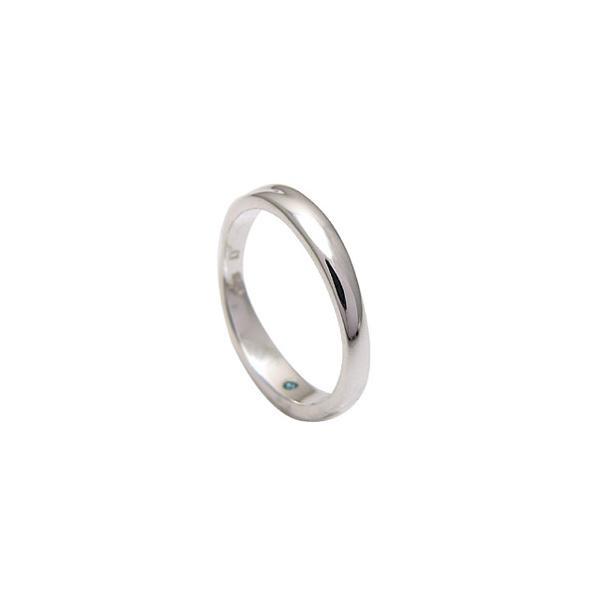 送料無料  シルバーアクセサリー ペアリング[単品] リング・指輪 ブルーダイヤモンド メビウス・永遠 r0521 2pcs 06