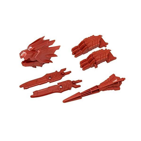 【紅武器フルコンプセット】プラレール 新幹線変形ロボ シンカリオン DXS13 ブラックシンカリオン紅|3-dia|02