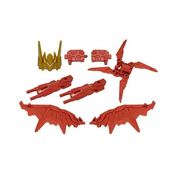 【紅武器フルコンプセット】プラレール 新幹線変形ロボ シンカリオン DXS13 ブラックシンカリオン紅|3-dia|03