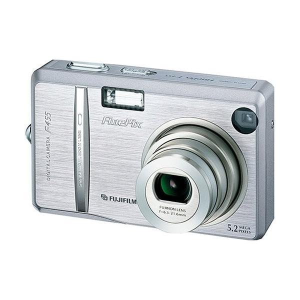 FUJIFILM FinePix F455 S デジタルカメラ シルバー