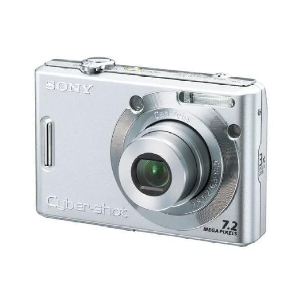 ソニー SONY デジタルカメラ Cybershot シルバー DSC-W35