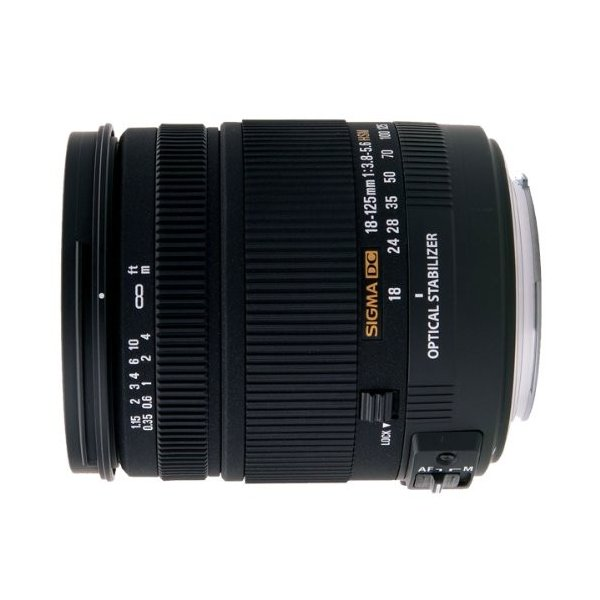 SIGMA 18-125mm F3.8-5.6  DC OS HSM  シグマ用