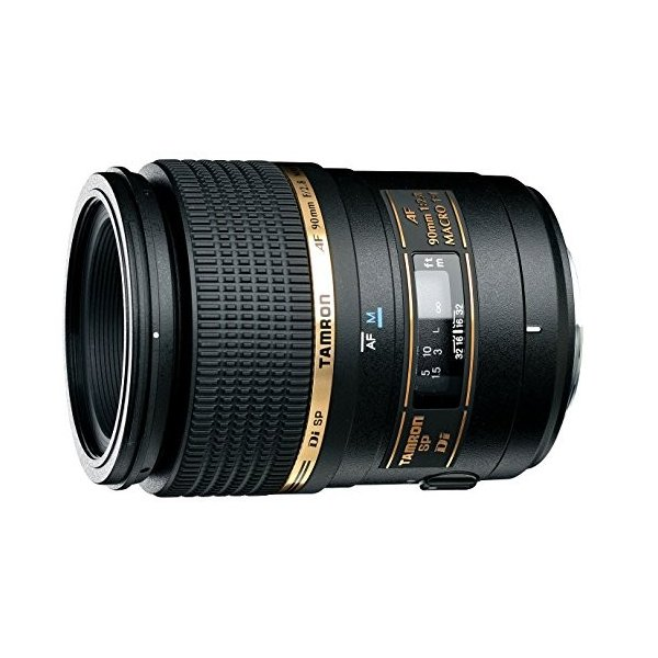 TAMRON 単焦点マクロレンズ SP AF90mm F2.8 Di MACRO 1:1 ニコン用 フルサ