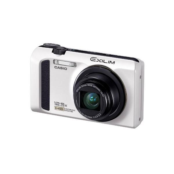 CASIO デジタルカメラ EXILIM ホワイト EX-ZR100WE|3-sense