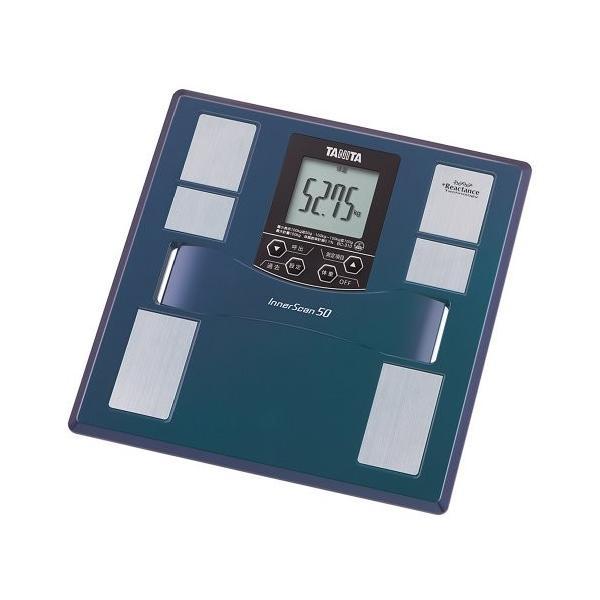 タニタ 体重 体組成計 50g 最薄 日本製 ブルー BC-310 BL|3-sense