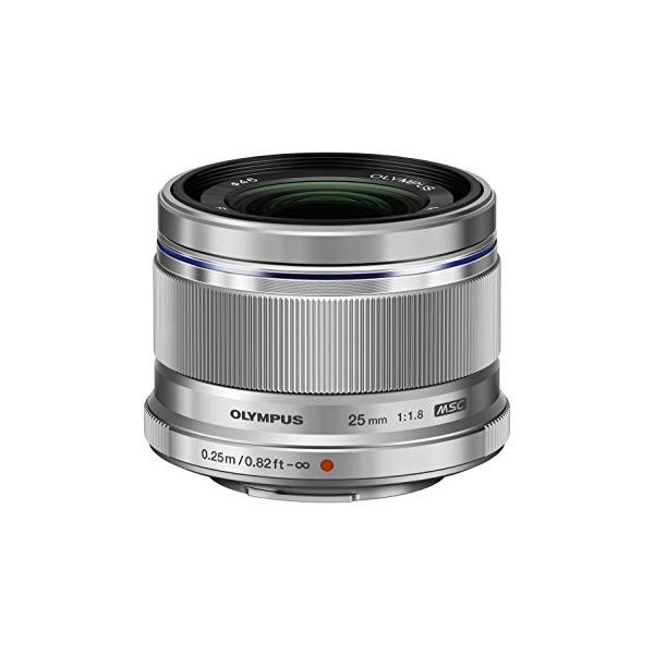 OLYMPUS 単焦点レンズ M.ZUIKO DIGITAL 25mm F1.8 SLV 3-sense
