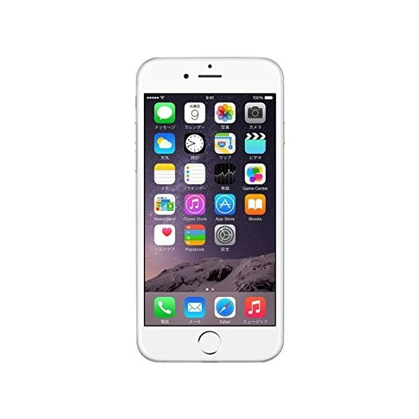 Apple au iPhone6 64GB A1586 (MG4H2J/A) シルバー|3-sense
