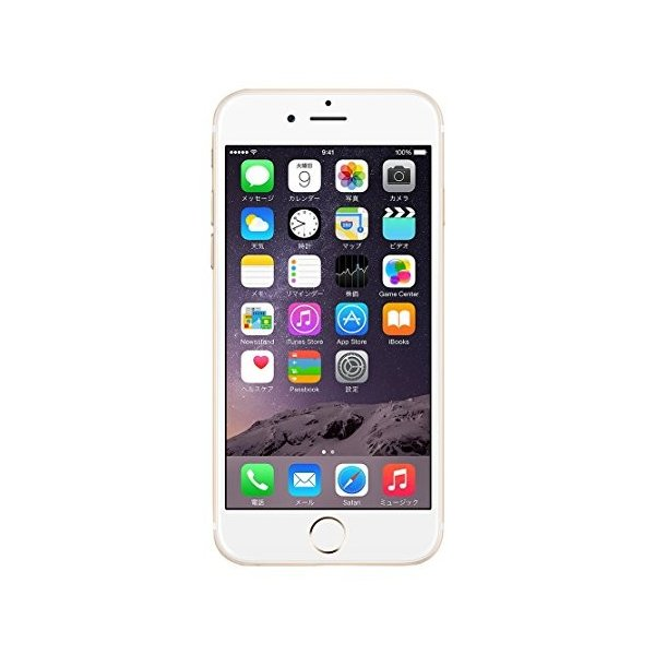 Apple SoftBank iPhone6 64GB A1586 (MG4J2J/A) ゴールド 3-sense