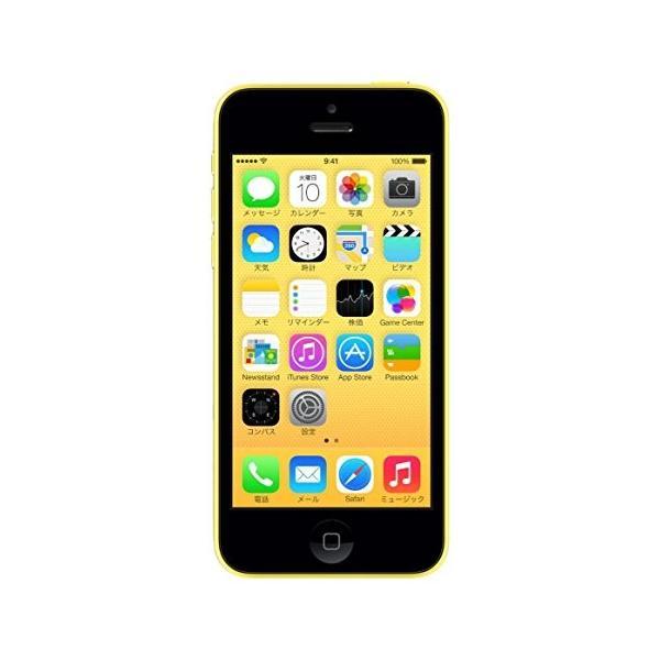iPhone5C 16GB イエロー (ME542J/A) auの画像