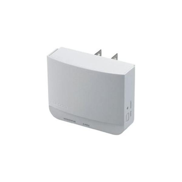 ( お徳用 5セット ) エレコム(ELECOM) 無線LAN中継器300Mbps WTC-300HWH 3-sense
