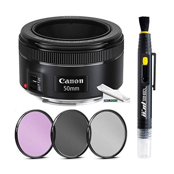 Canon EF 50?mm f / 1.8?STMレンズ+ Deal Expo基本的なアクセサリーバンド|3-sense