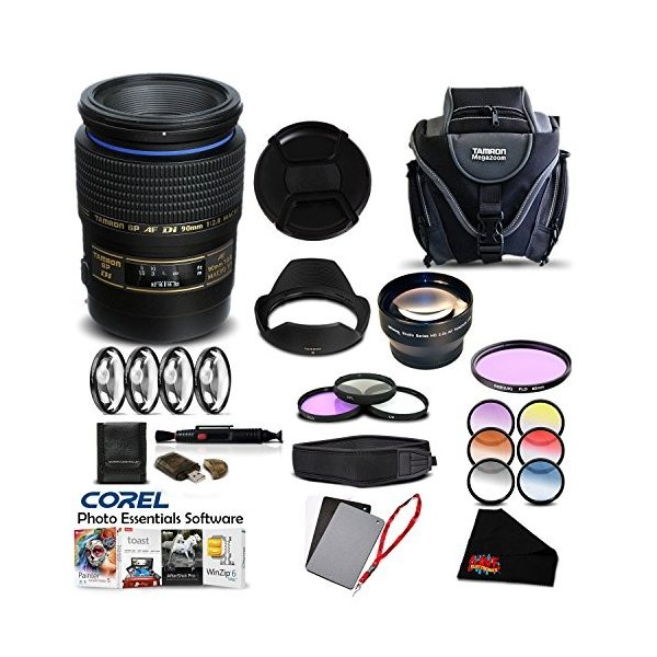 Tamron SP 90?mm f / 2.8?DiマクロAutofocus Lens (国際バージョン) (保証|3-sense