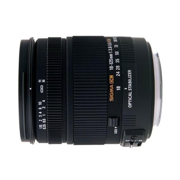 (新品未使用)SIGMA 18-125mm F3.8-5.6  DC OS HSM  シグマ用