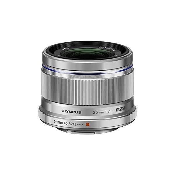 (新品未使用)OLYMPUS 単焦点レンズ M.ZUIKO DIGITAL 25mm F1.8 SLV|3-sense