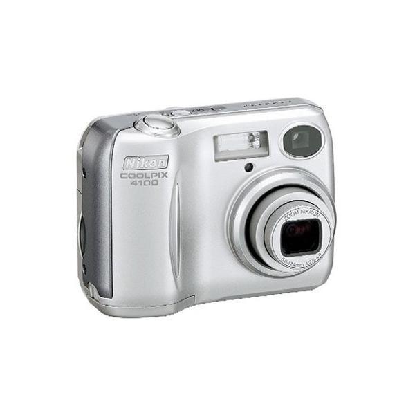 (新品未使用)Nikon COOLPIX 4100 クロムシルバー E4100 (J)