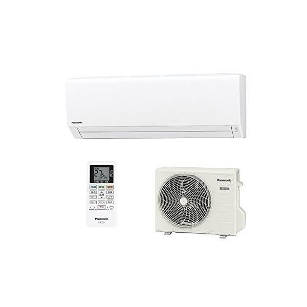 (新品未使用)パナソニック エオリア Fシリーズ 6畳用冷暖房除湿エアコン CS-227CF-W(|3-sense