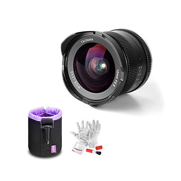 (新品未使用)7artisans 12mm F2.8 超広角レンズ ミラーレスカメラ M4/3 マウント APS-C|3-sense