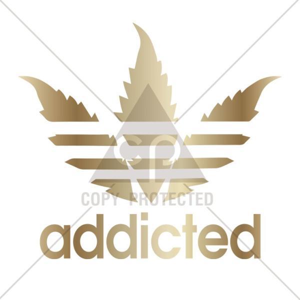 パーカー メンズ レディース スウェット プルオーバー バックプリント おしゃれ addicted アディックテッド KUSH マリファナ クッシュ リーフ ロゴ|301-shop|02