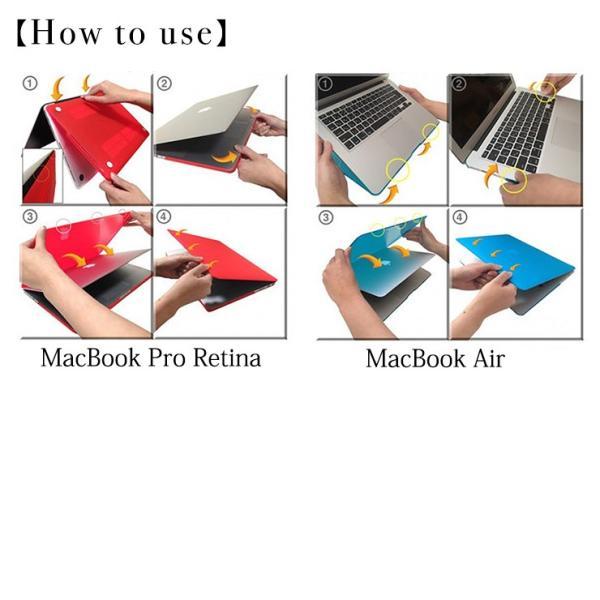 MacBook Pro Retina 13 15インチ MacBook Air 11 13インチ MacBook 12インチ Retinaディスプレイ 対応 ハード シェル マックブック ケース《全11色》|301-shop|04