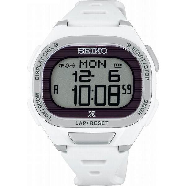 ランニングウォッチ セイコー 腕時計 メンズ ス−パ−ランナ−ズ S690 ソ−ラ− ホワイト SBEF051|311018
