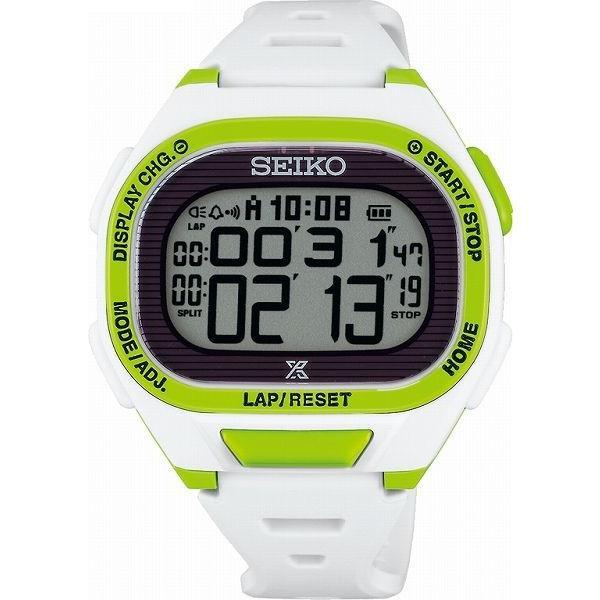 ランニングウォッチ セイコー 腕時計 メンズ ス−パ−ランナ−ズ S690 ソ−ラ− ライムホワイト SBEF053|311018