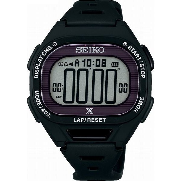 ランニングウォッチ セイコー 腕時計 メンズ ス−パ−ランナ−ズ S690 ソ−ラ− ブラック SBEF055|311018