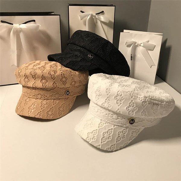 帽子レディースキャスケット秋冬春大きいサイズつば広UVカット日よけ紫外線対策大人日焼け止め小顔効果通勤ベレー帽