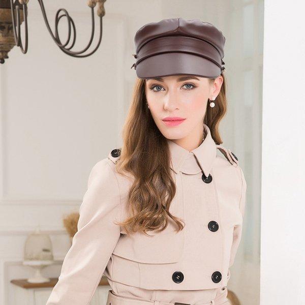 帽子レディース大きいサイズキャスケットおしゃれキャップぼうし無地キャメルつば付き春夏秋冬大きめ