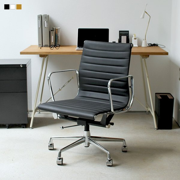イームズ アルミナムチェア  eames desigh type オフィスチェア オフィスチェアー ビジネスチェア チェアー パソコンチェア  デザインチェア|3244p