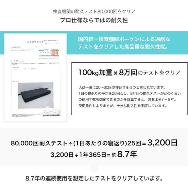 マットレス ポケットコイルマットレス シングル 真空圧縮 コンパクト梱包 厚み18cm MTS-064 3244p 07
