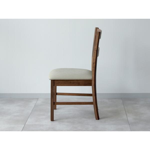 木製ダイニングチェア 2脚セット ナチュラル ブラウン MTS-061|3244p|09