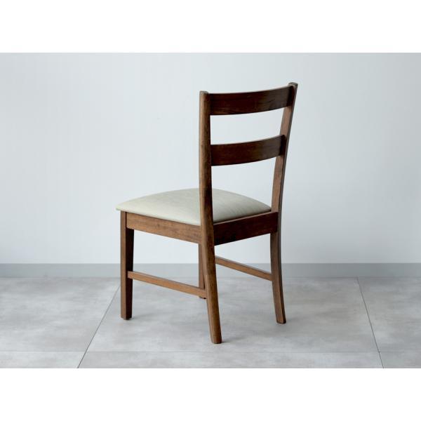 木製ダイニングチェア 2脚セット ナチュラル ブラウン MTS-061|3244p|10