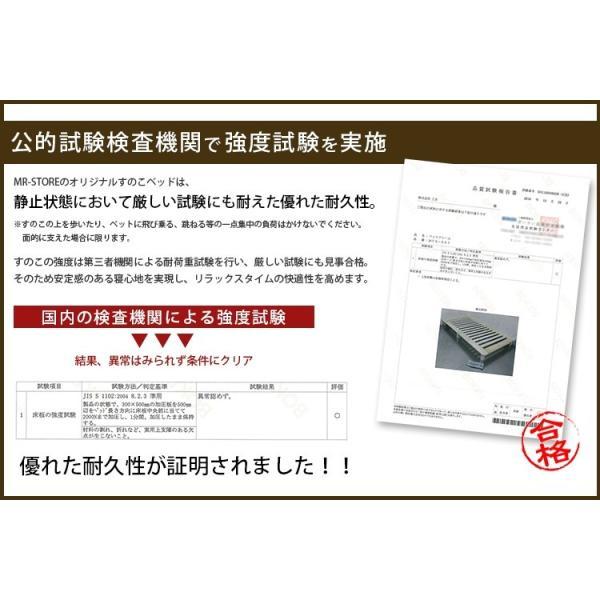 ベッドフレーム ベット セミダブル W123 無垢材(パイン材) ヘッドレス すのこベッド 北欧 シンプル ナチュラル MTS-098|3244p|06