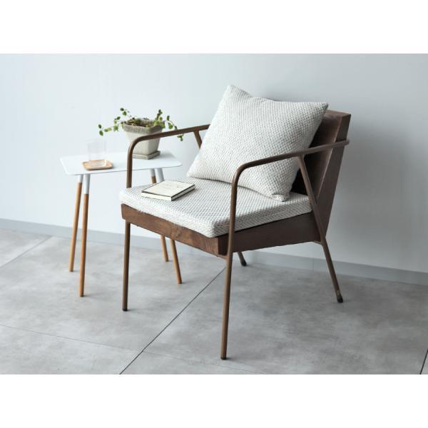 ラグランチェア RAGLAN chair パーソナルチェア ソファ ダイニングチェア 完成品 1P ホワイト ブルー MTS-106|3244p|02