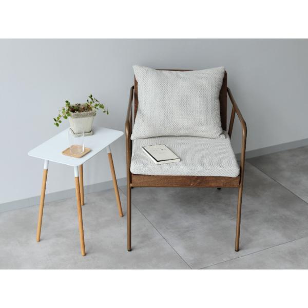 ラグランチェア RAGLAN chair パーソナルチェア ソファ ダイニングチェア 完成品 1P ホワイト ブルー MTS-106|3244p|04