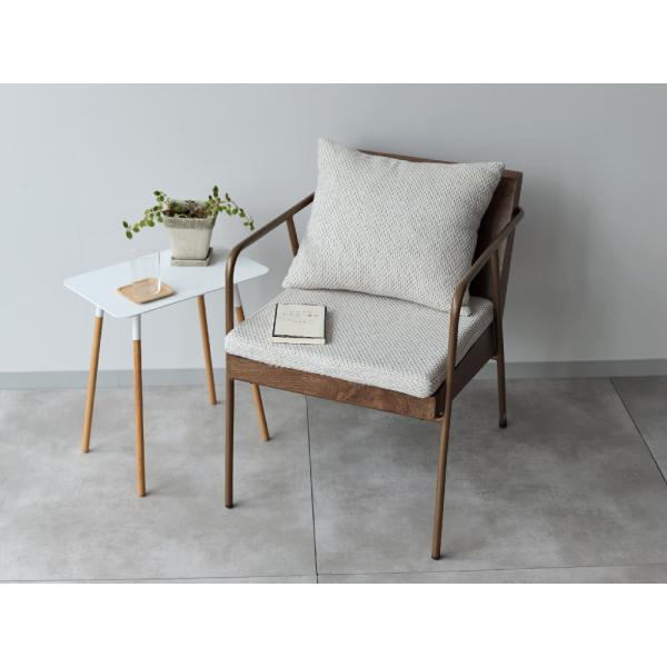 ラグランチェア RAGLAN chair パーソナルチェア ソファ ダイニングチェア 完成品 1P ホワイト ブルー MTS-106|3244p|05