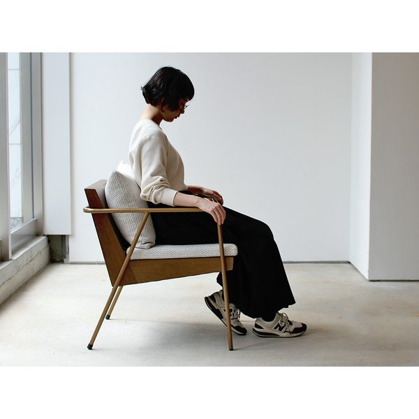 ラグランチェア RAGLAN chair パーソナルチェア ソファ ダイニングチェア 完成品 1P ホワイト ブルー MTS-106|3244p|09