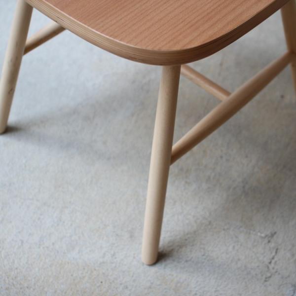 ダイニングチェア 椅子 いす チェア CL-311 NA BK WH BR MIX 北欧 木脚 木製 いす イス 完成品|3244p|15