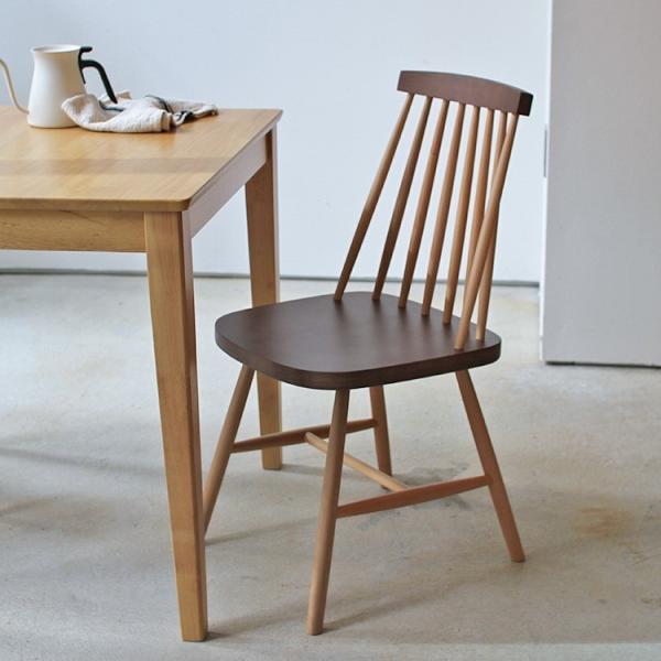 ダイニングチェア 椅子 いす チェア CL-311 NA BK WH BR MIX 北欧 木脚 木製 いす イス 完成品|3244p|18
