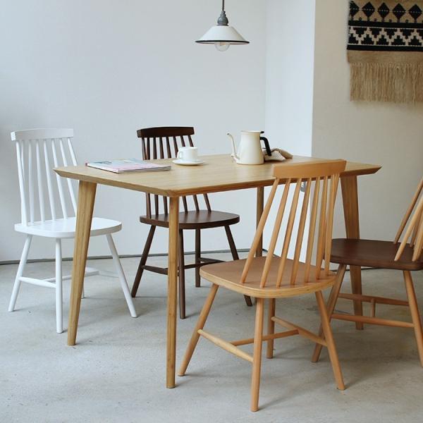 ダイニングチェア 椅子 いす チェア CL-311 NA BK WH BR MIX 北欧 木脚 木製 いす イス 完成品|3244p|19