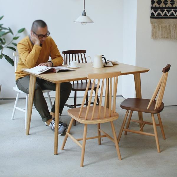 ダイニングチェア 椅子 いす チェア CL-311 NA BK WH BR MIX 北欧 木脚 木製 いす イス 完成品|3244p|03