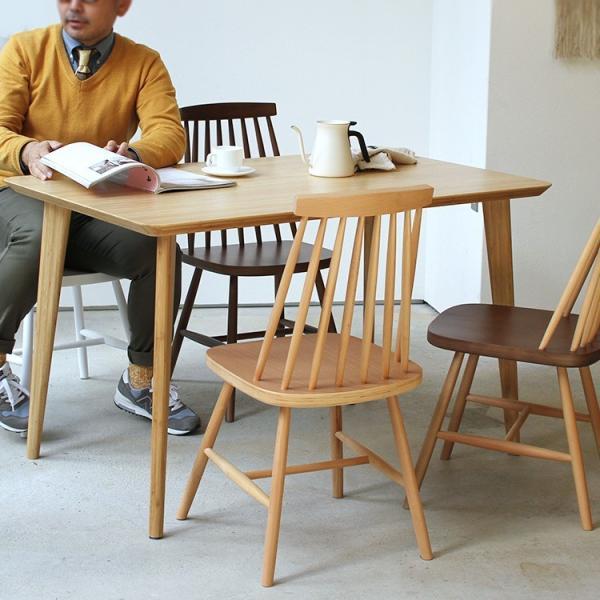 ダイニングチェア 椅子 いす チェア CL-311 NA BK WH BR MIX 北欧 木脚 木製 いす イス 完成品|3244p|05