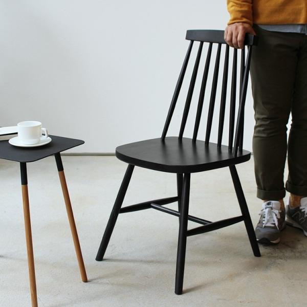 ダイニングチェア 椅子 いす チェア CL-311 NA BK WH BR MIX 北欧 木脚 木製 いす イス 完成品|3244p|06