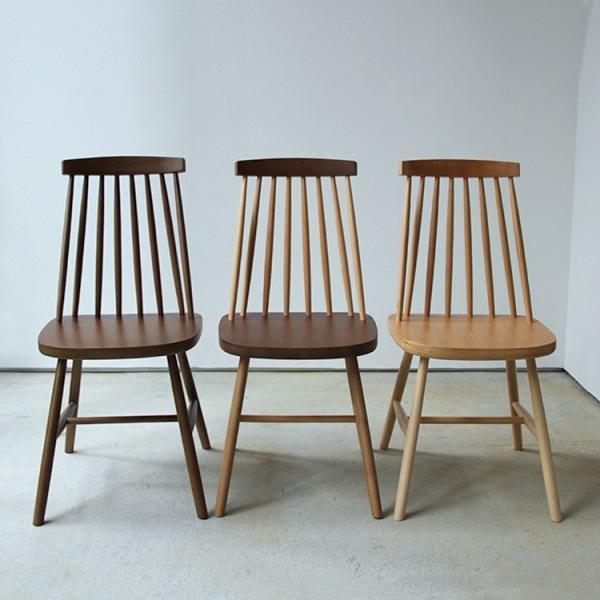 ダイニングチェア 椅子 いす チェア CL-311 NA BK WH BR MIX 北欧 木脚 木製 いす イス 完成品|3244p|08