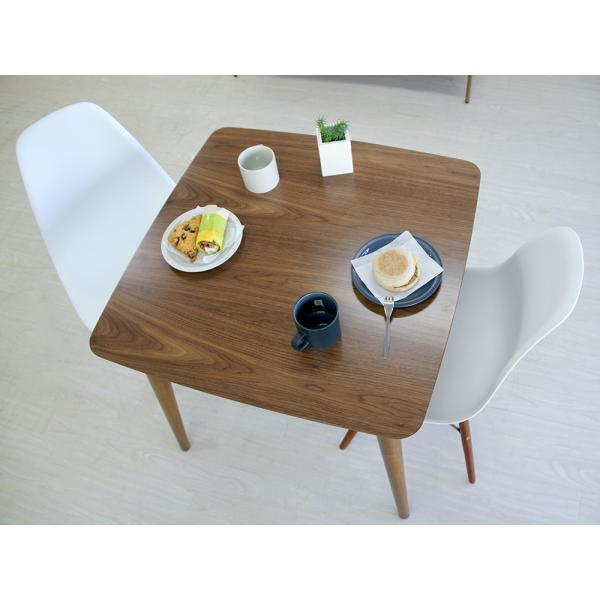 ダイニングテーブル トムテ 2名用 木製 TAC-241WAL 75cm 東谷(azumaya)  tomte|3244p|11