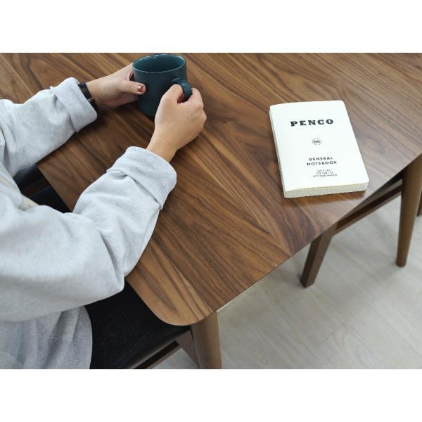 ダイニングテーブル トムテ 2名用 木製 TAC-241WAL 75cm 東谷(azumaya)  tomte|3244p|04