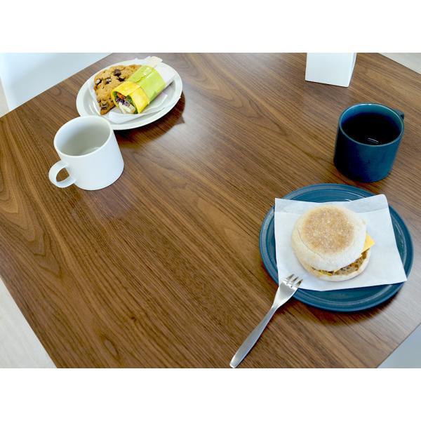 ダイニングテーブル トムテ 2名用 木製 TAC-241WAL 75cm 東谷(azumaya)  tomte|3244p|08