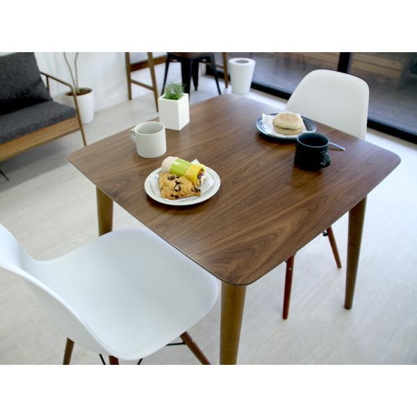 ダイニングテーブル トムテ 2名用 木製 TAC-241WAL 75cm 東谷(azumaya)  tomte|3244p|10
