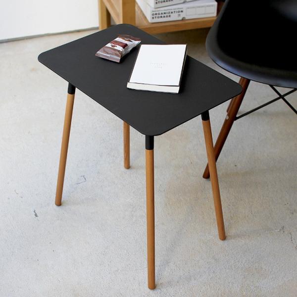 [山崎実業] Plain(プレーン)サイドテーブル 角型 ブラック에 대한 이미지 검색결과