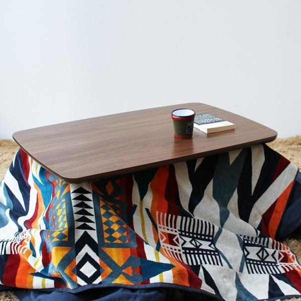 こたつテーブル ケニー 90×60cm 本体 906WALN 北欧 デザイン
